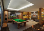 billiard-room