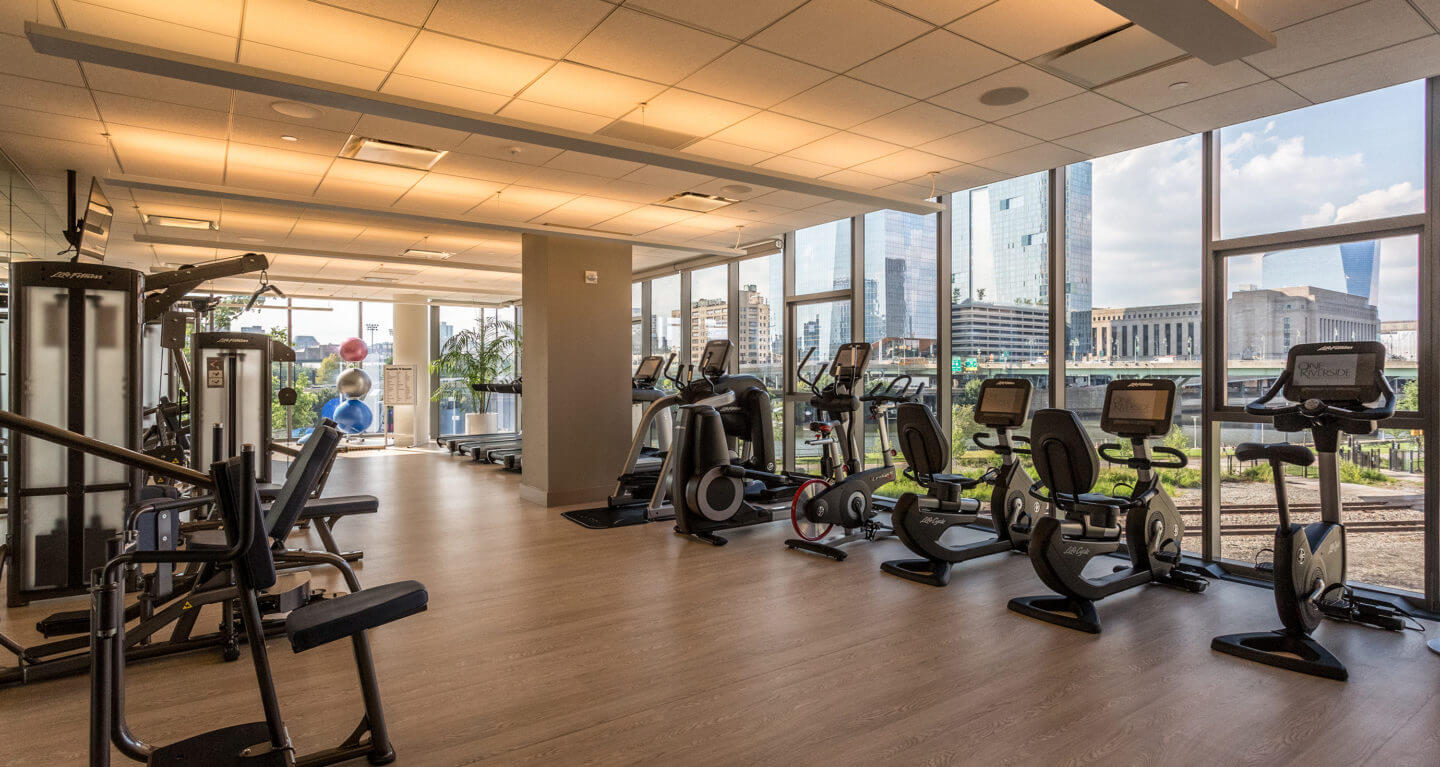 One Riverside fitness center