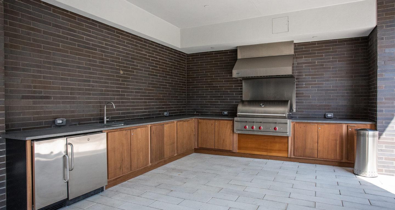 One Riverside outdoor kitchen