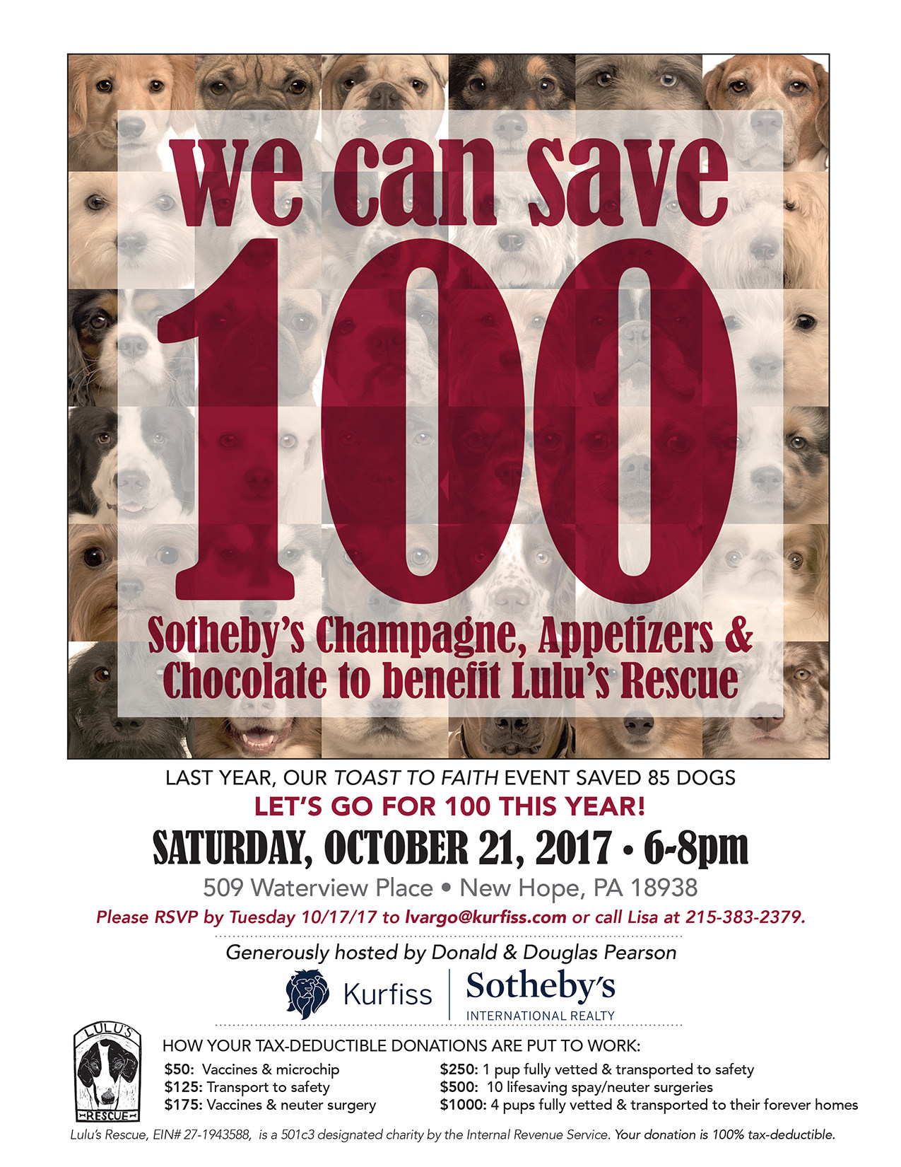 Lulus Rescue Benefit on Oct. 21 2017