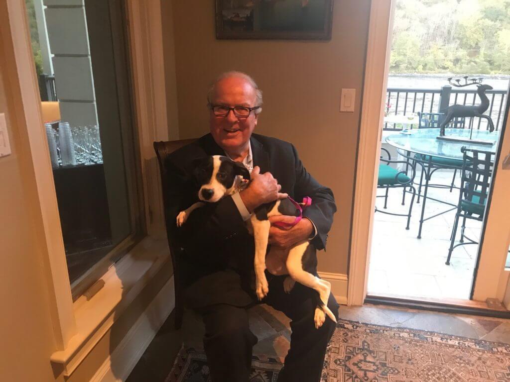 Lulus Rescue dog Lucy Mae