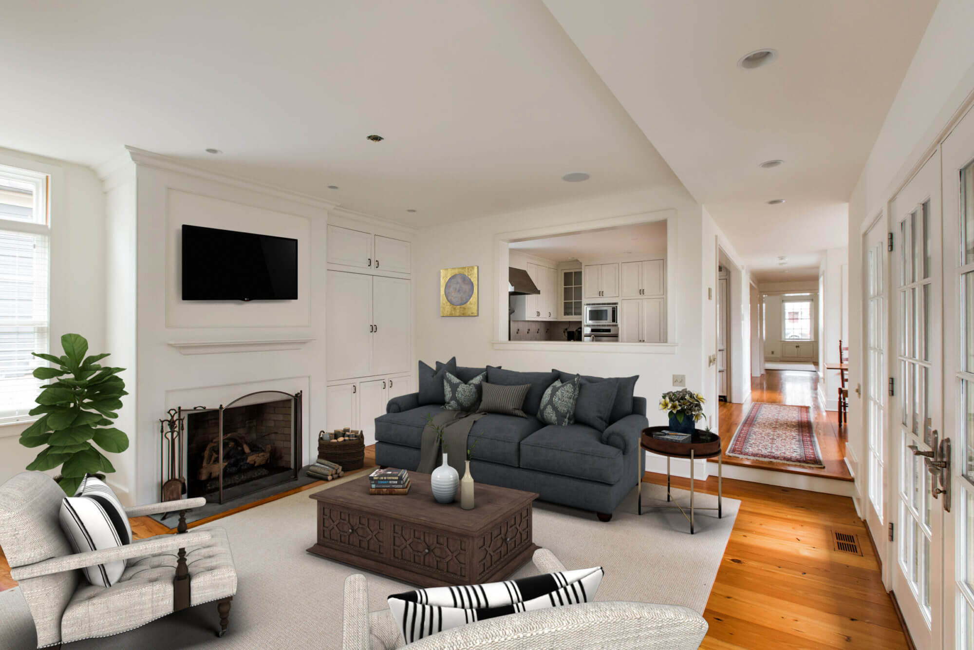 photo after virtual staging