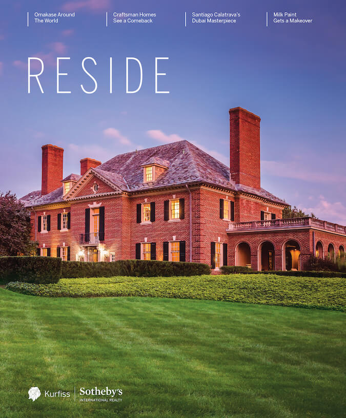 Cover of Reside Magazine Fall 2019