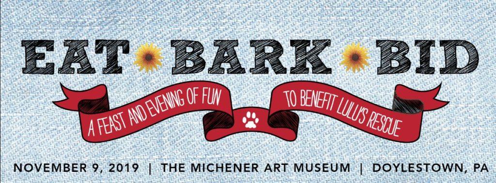 Eat Bark Bid logo for Lulu's Rescue